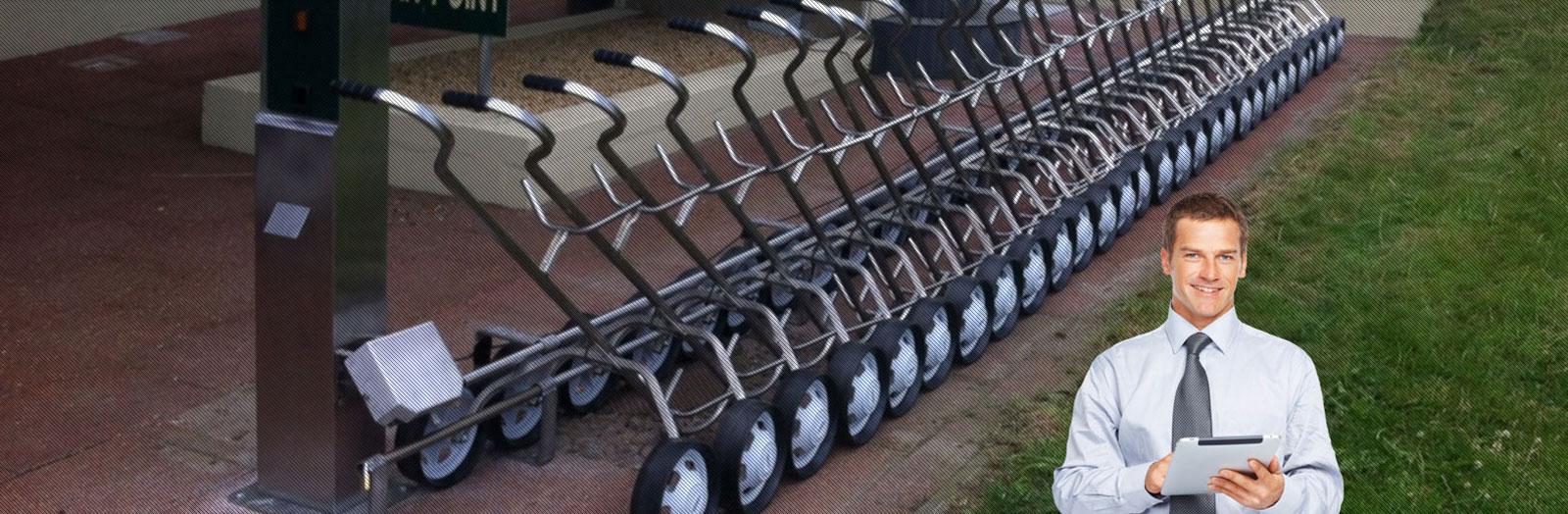 Keypad Golf Trolley systems