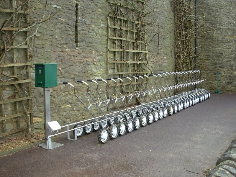 Thronbury Golf Club Golf Trolley System