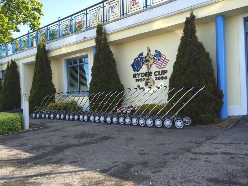 Hillhopper Rental Golf Trolleys at the K Club